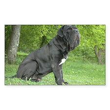 Unique Neapolitan mastiff Decal