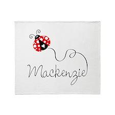 Ladybug Mackenzie Throw Blanket