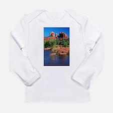 Cathedral Rock, Sedona Long Sleeve Infant T-Shirt