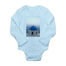 Unique Santorini Long Sleeve Infant Bodysuit