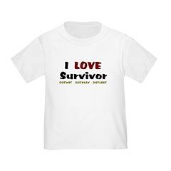 Survivor fan T