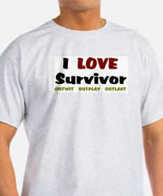 Survivor fan T-Shirt