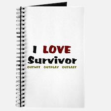 Survivor fan Journal