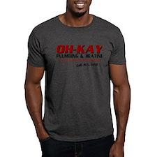 OH-KAY Plumbing & Heating T-Shirt