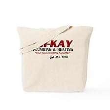 OH-KAY Plumbing & Heating Tote Bag