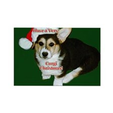 Have a Very Corgi Christmas Rectangle Magnet