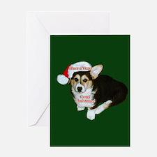 Have a Very Corgi Christmas Greeting Card