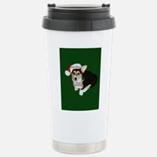 Have a Very Corgi Christmas Stainless Steel Travel