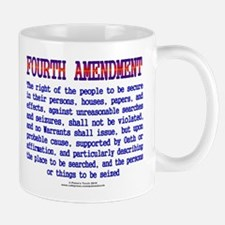Fourth Amendment Mug