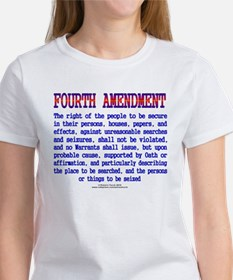 Fourth Amendment Women's T-Shirt