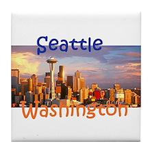 SEATTLE Tile Coaster