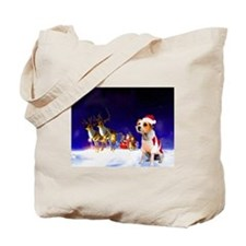 Santa's Little Helper Tote Bag
