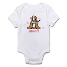 Woof! Basset Hound Infant Creeper