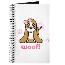 Woof! Basset Hound Journal