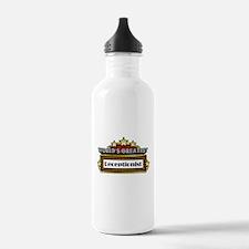 World's Greatest Receptionist Water Bottle