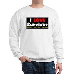 Survivor fan Sweatshirt