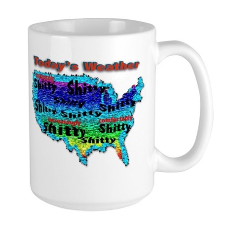 Today's Weather Large Mug