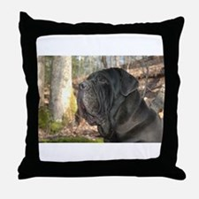 Cute Mastino Throw Pillow