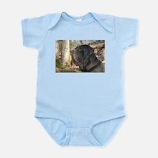 Cute Italian mastiff Infant Bodysuit
