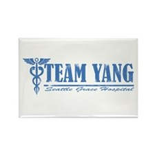 Team Yang SGH Rectangle Magnet