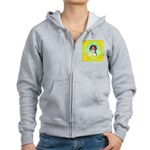 Beagle Bitch Diva Women's Zip Hoodie