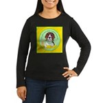 Beagle Bitch Diva Women's Long Sleeve Dark T-Shirt