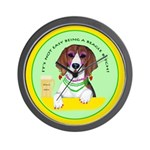 Beagle Bitch Diva Wall Clock