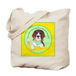 Beagle Bitch Diva Tote Bag