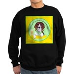 Beagle Bitch Diva Sweatshirt (dark)