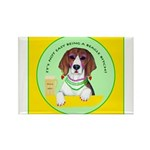 Beagle Bitch Diva Rectangle Magnet (10 pack)