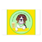 Beagle Bitch Diva Postcards (Package of 8)