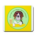 Beagle Bitch Diva Mousepad