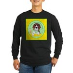 Beagle Bitch Diva Long Sleeve Dark T-Shirt