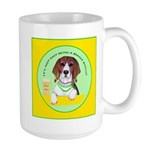 Beagle Bitch Diva Large Mug