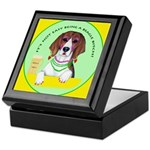 Beagle Bitch Diva Keepsake Box