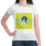 Beagle Bitch Diva Jr. Ringer T-Shirt
