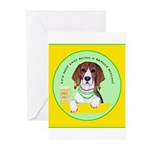 Beagle Bitch Diva Greeting Cards (Pk of 20)