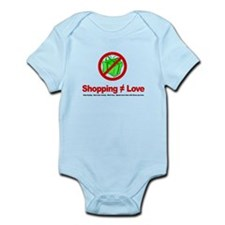 Shopping (does not equal) Love - Infant Bodysuit