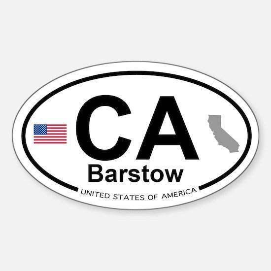 Barstow Sticker (Oval)