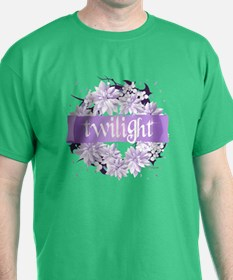 Crystal Purple Twilight Wreath T-Shirt