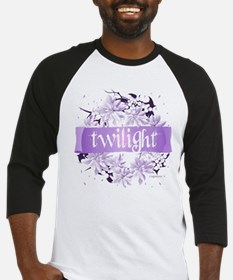 Crystal Purple Twilight Wreath Baseball Jersey