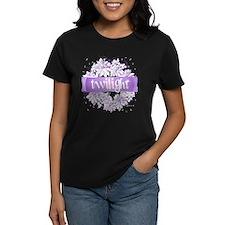 Crystal Purple Twilight Wreath Tee