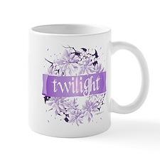 Crystal Purple Twilight Wreath Small Mug