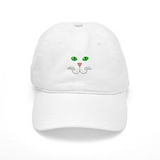 Cat Face Baseball Cap