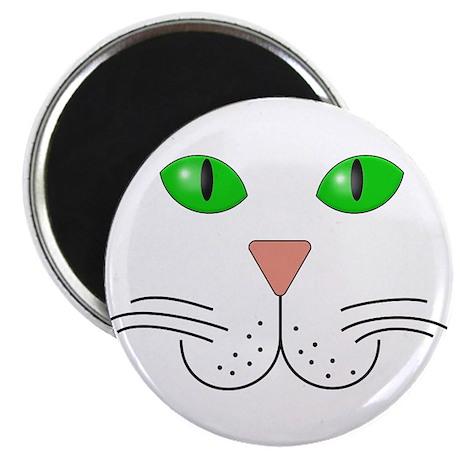 "Cat Face 2.25"" Magnet (100 pack)"