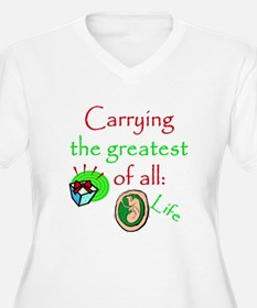 Funny Christmas pregnancy T-Shirt