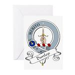 Dunlop Clan Badge Greeting Cards (Pk of 10)