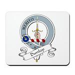 Dunlop Clan Badge Mousepad