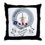 Dunlop Clan Badge Throw Pillow