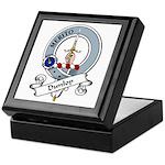 Dunlop Clan Badge Keepsake Box